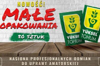 Wychodząc naprzeciw Państwa oczekiwaniom, Yuksel Tohum Polska wprowadza do swoje…