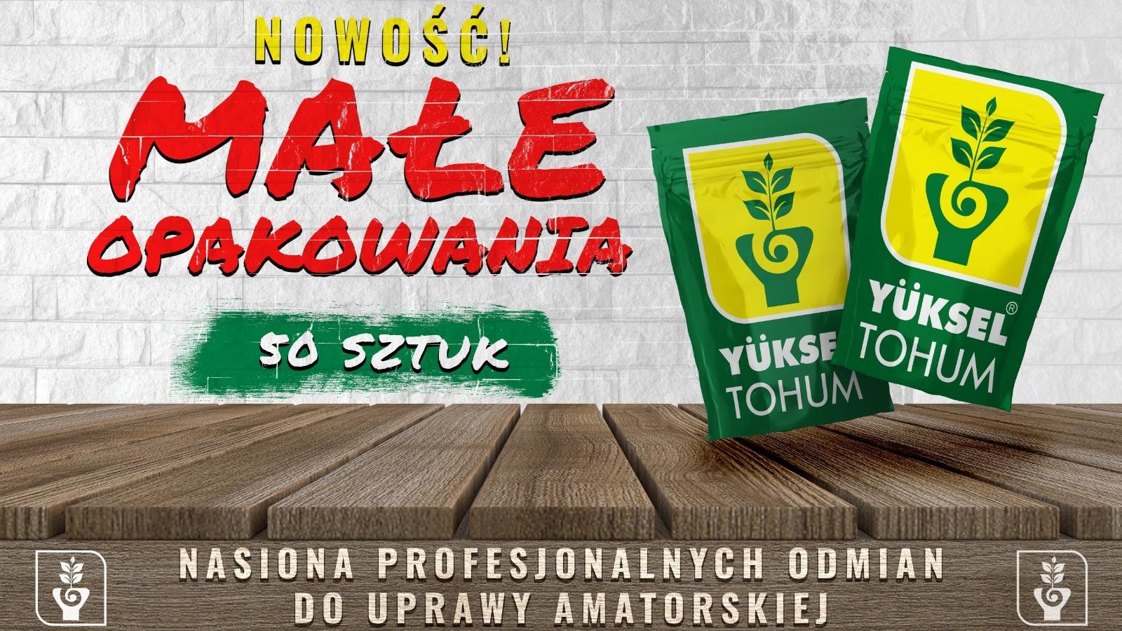 Wychodząc naprzeciw Państwa oczekiwaniom, Yuksel Tohum Polska wprowadza do swoje...